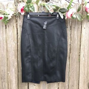 Dresses & Skirts - WOMENS Express leather pencil skirt
